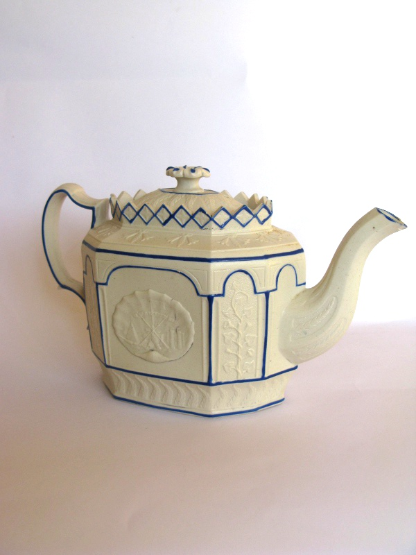 Mid 19th Century Smear Glazed Teapot