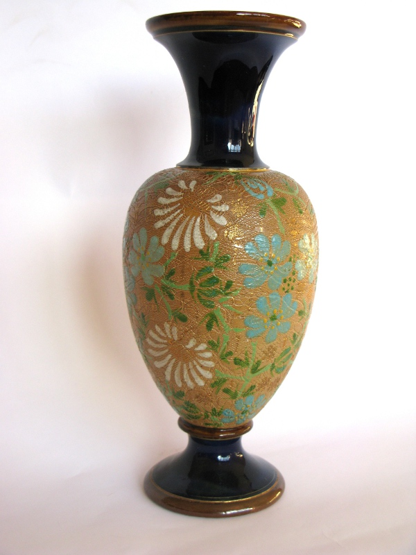 Instinct Antiques Doulton Lambeth Slaters Patent Vase